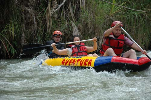 Kayaking en el Quindío